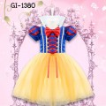 GI1380 ชุดเดรสเด็กผู้หญิงแฟนซี คอตั้งเจ้าหญิงสโนไวท์ (2ชิ้น)