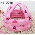 HE0025 หมวกกันน็อคเด็ก หมวกกันกระแทกเด็ก สีชมพูลายมิกกี้เมาส์ Love You (45-60cm)