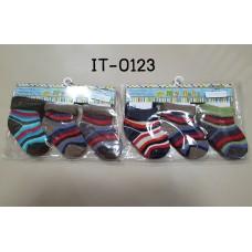 it0123 ถุงเท้าเด็กเล็ก 0-6 เดือน แพ็ค 3 คู่ เด็กชาย (เลือกลาย)