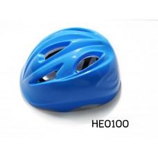 HE0100 หมวกกันน็อคเด็กสำหรับขี่จักรยานสีน้ำเงิน