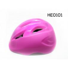 HE0101 หมวกกันน็อคเด็กสำหรับขี่จักรยานสีชมพู