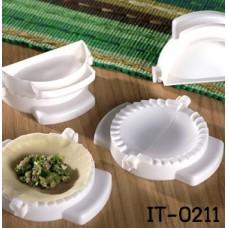 IT0211 ที่ทำเกี๊ยวซ่า หรือแซนวิชรูปเกี๊ยวซ่า สีขาว