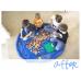 IT0221 ถุงรูดเก็บของเล่นเด็ก เวลาเลิกเล่นแล้วรูดเก็บแล้วแขวนไว้นำมาเล่นใหม่ มี 2 สี