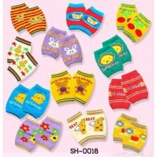 SH0018 สนับเข่าเด็ก กันกระแทก ป้องกันหัวเข่าด้าน ผ้าแบบถุงเท้า แบบที่ 1