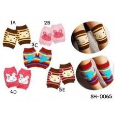 SH0065 สนับเข่าเด็ก กันกระแทก ป้องกันหัวเข่าด้าน ผ้าแบบถุงเท้า แบบที่ 2