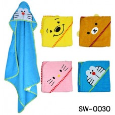 SW0030 ผ้าคลุมอาบน้ำ หรือ ผ้าคลุมสำหรับว่ายน้ำ ลิขสิทธิ์ ลายดิสนีย์ 4 ลาย