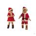 BS1113 ชุดบอดี้สูทแฟนซีซานตาครอสเด็กผู้ชาย มีหมวก ฉลองวันคริสมาสต์ (2ชิ้น)