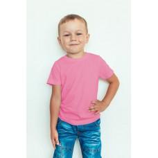 TS0002 เสื้อยืดเด็ก คอกลม สีชมพู