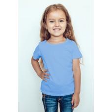TS0004 เสื้อยืดเด็ก คอกลม สีฟ้า