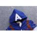 CO0092 เสื้อกันหนาวเด็ก แขนยาวซิปหน้าพร้อมฮู้ด ลายซุปเปอร์ฮีโร่ กัปตันอเมริกา
