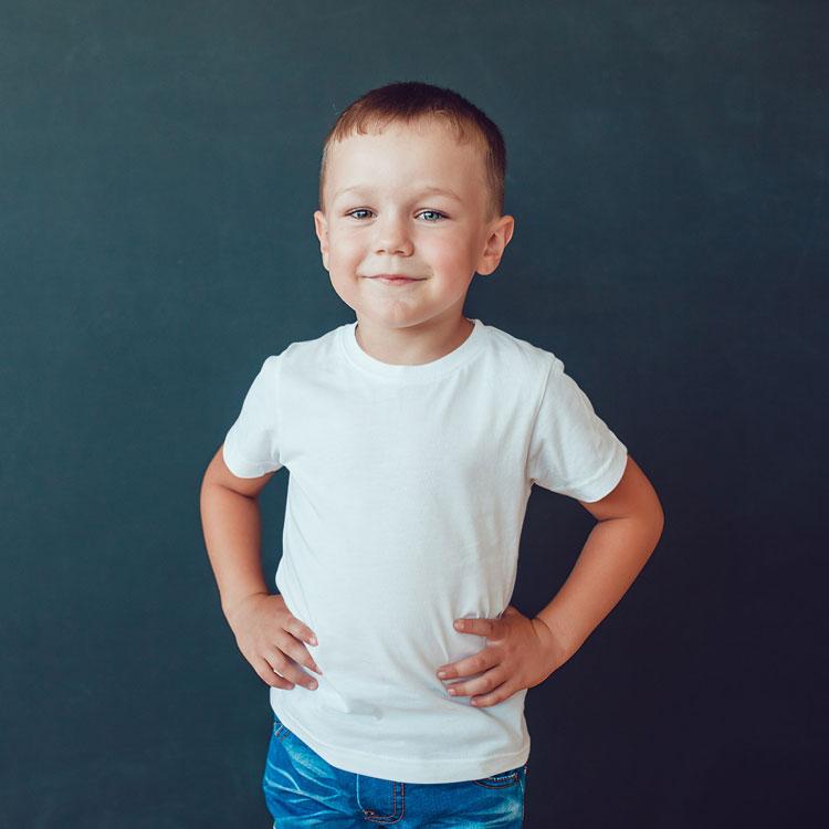 เสื้อยืดเด็กผู้ชาย